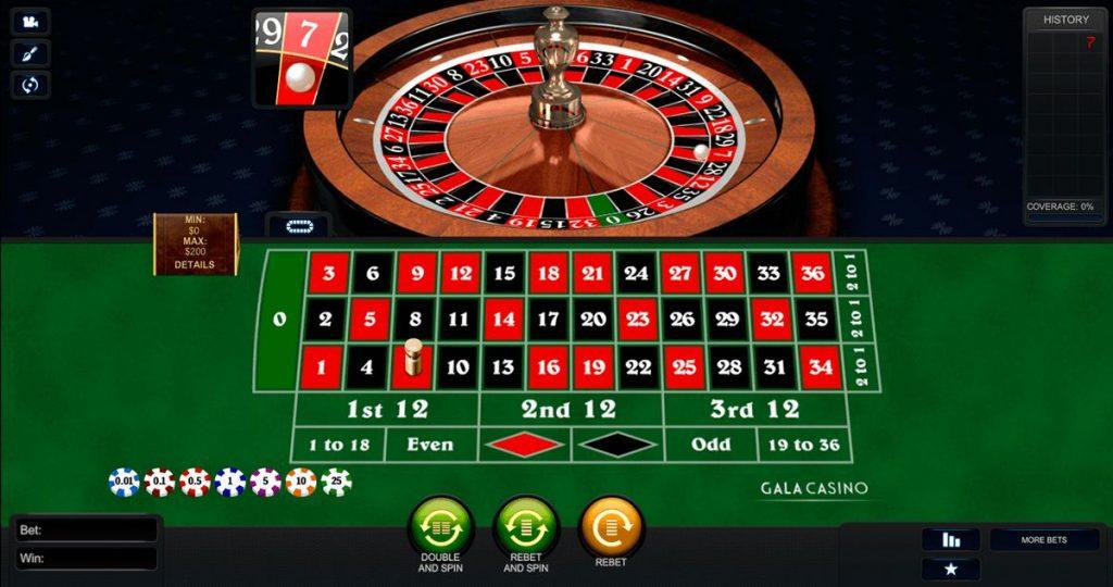 Cara bermain Roulette di Agen Judi online